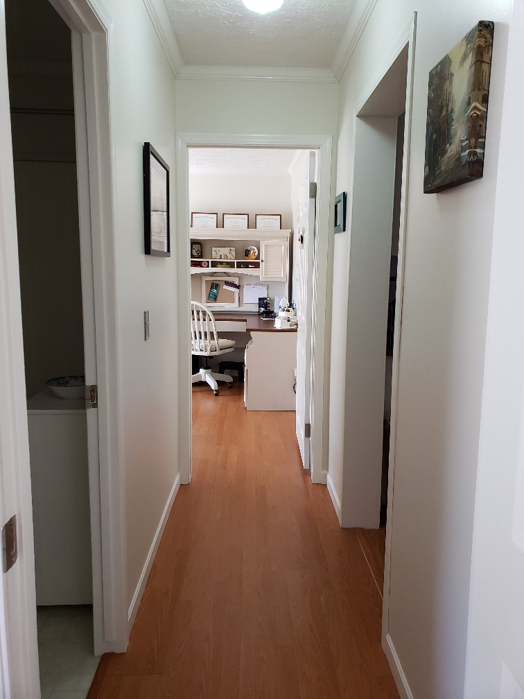 Hallway to 2nd and 3rd Bedroom and 2nd Bath