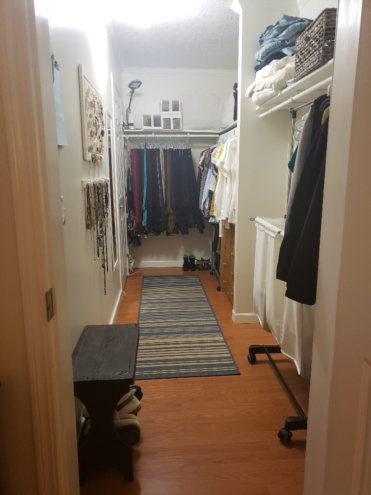 Huge Thru-way Master Closet